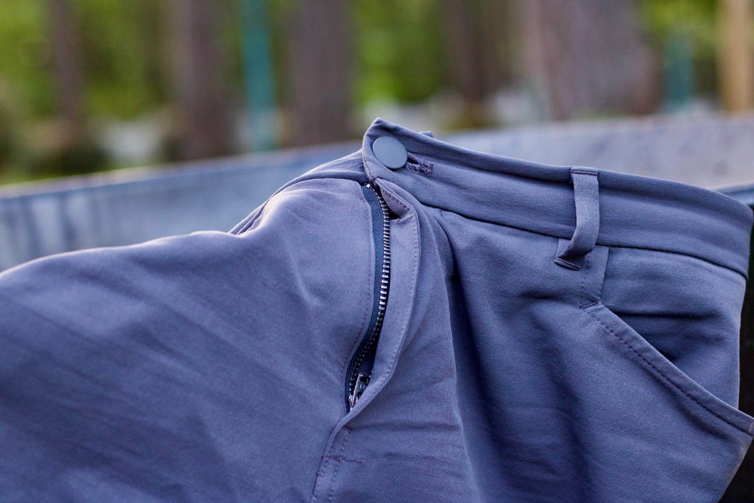 reinforced waistband on the REI Co-op Sun Up Shorts
